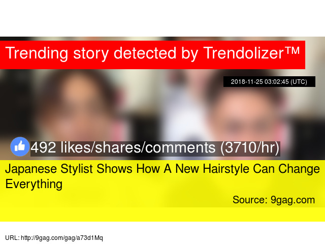Japanese Stylist Shows How A New Hairstyle Can Change Everything