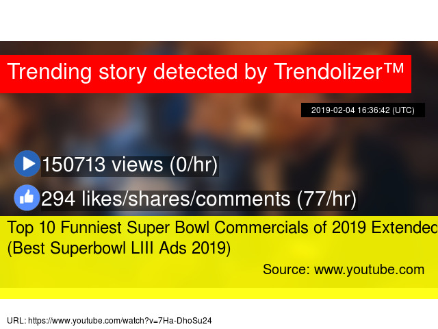 Top 10 Funniest Super Bowl Commercials of 2019 Extended