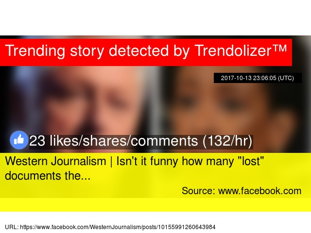 Western Journalism | Isn't it funny how many