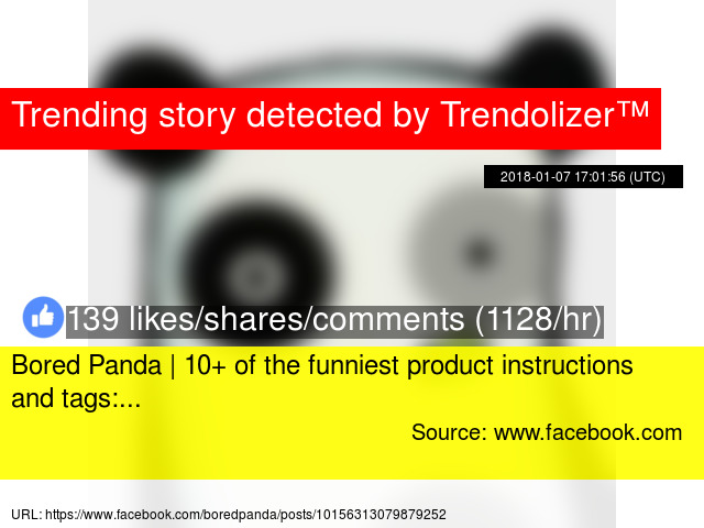 Bored Panda 10 Of The Funniest Product Instructions And Tags