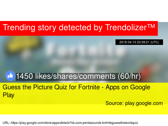 Guess The Picture Quiz For Fortnite Apps On Google Play