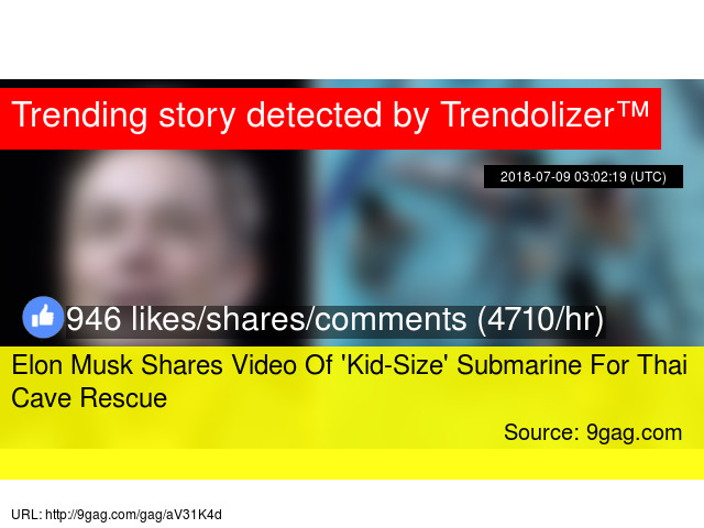 Elon Musk Shares Video Of 'Kid-Size' Submarine For Thai Cave