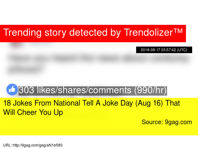 18 Jokes From National Tell A Joke Day Aug 16 That Will Cheer You Up